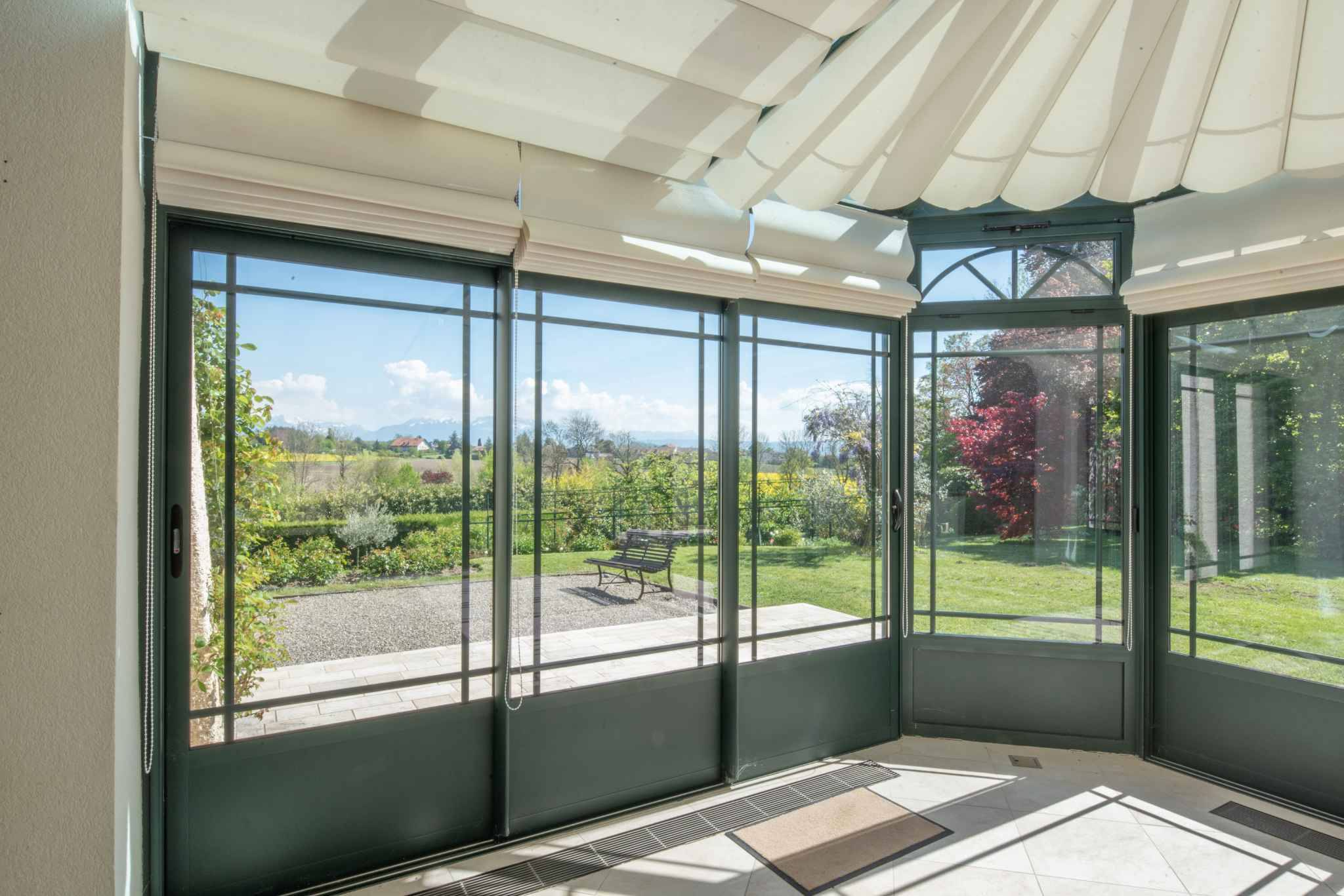 Home with commanding countryside view