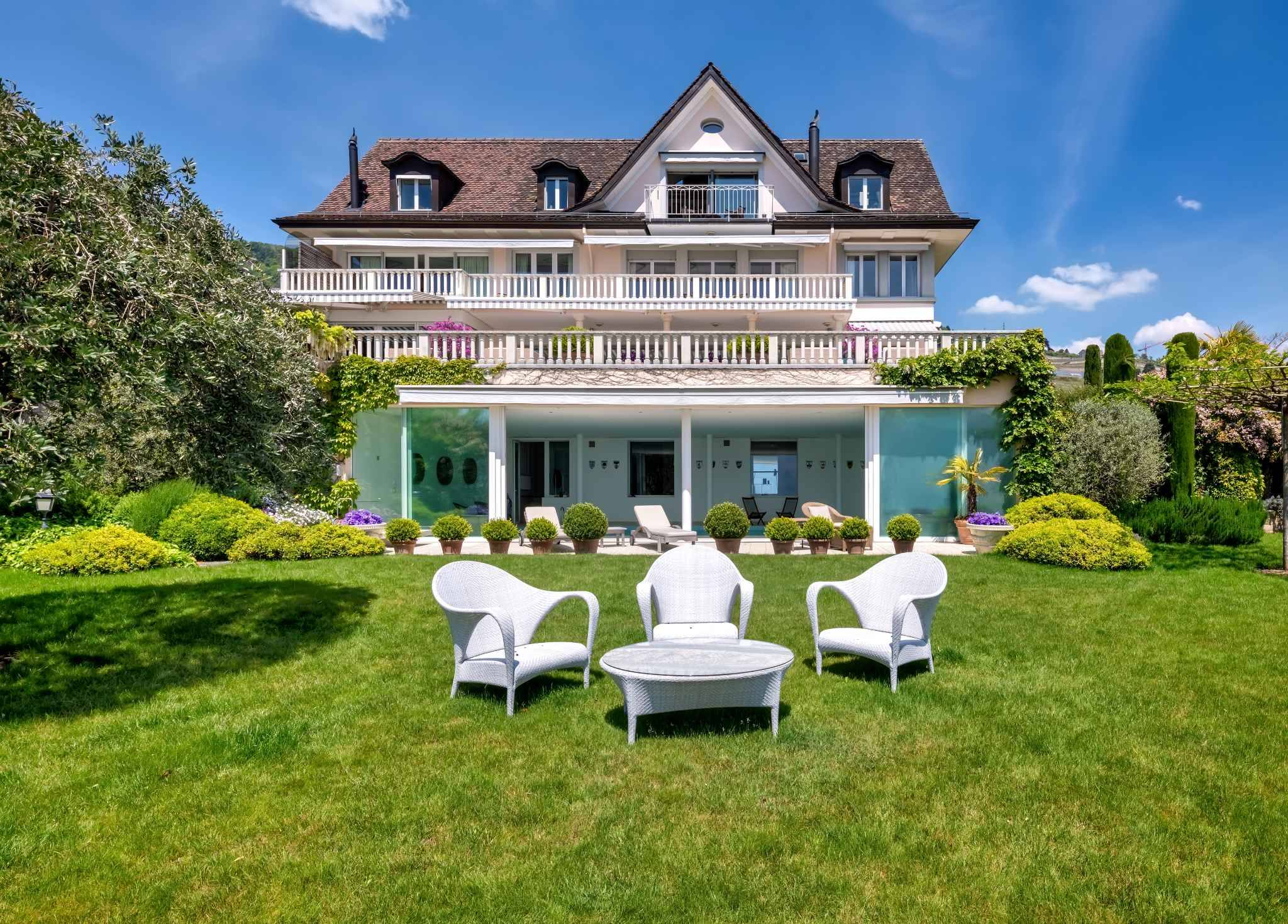 Luxury property at Corseaux