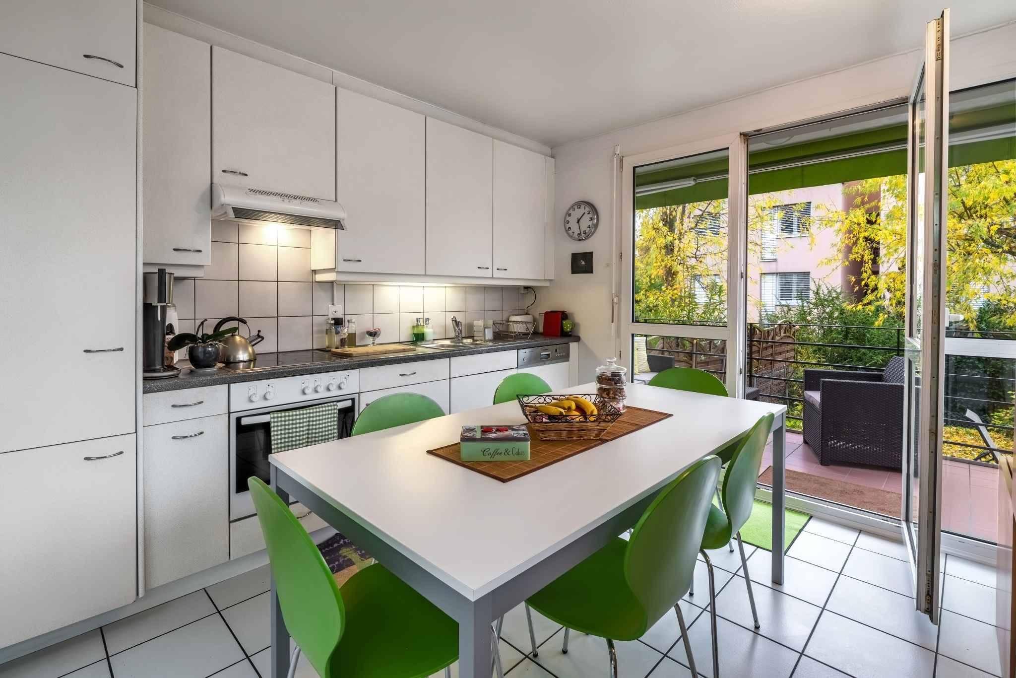 Duplex avec jardin à Thônex