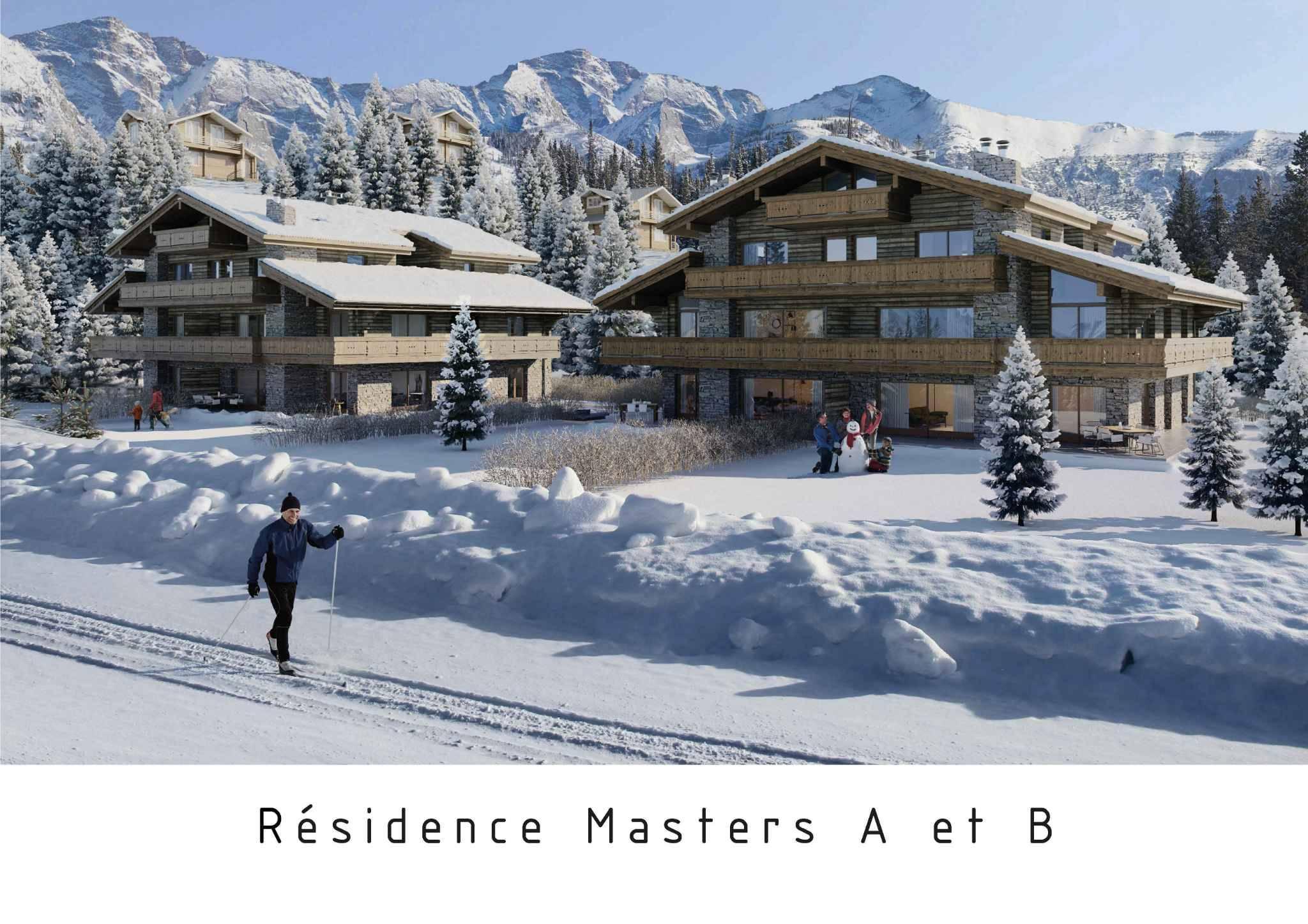Résidence Master A & B - 4.5 pces - App. no 36