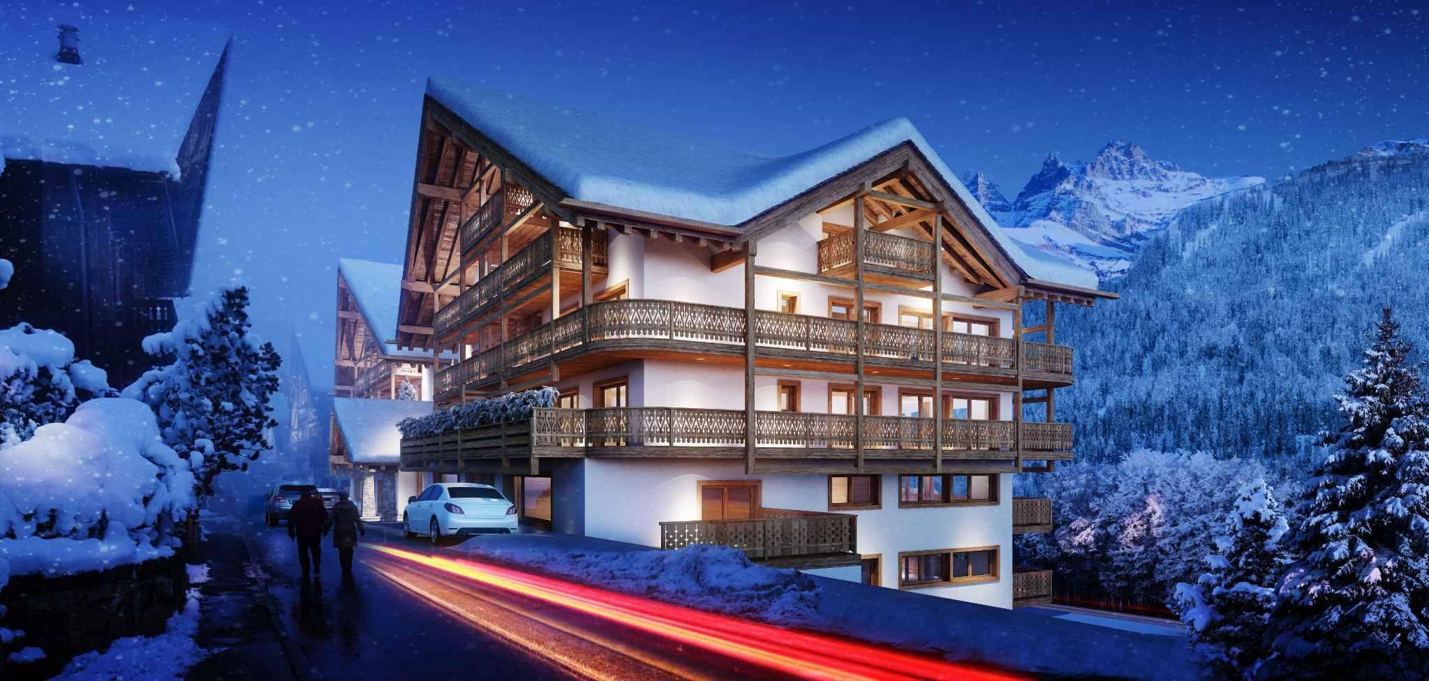 Top floor apartment A63