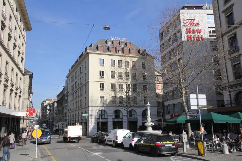 Genève / Place Ruth-BÖSIGER